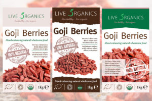Goji-Berries - Live 5 Organics