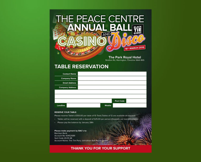 The Peace Centre Annual Ball